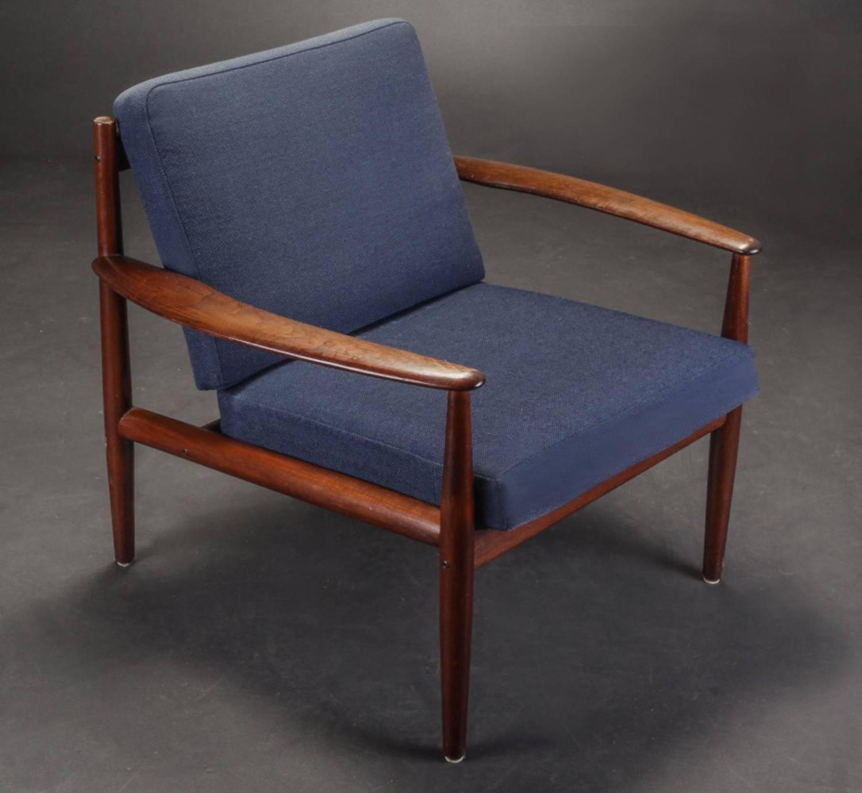 Mid Century Danish Easy Lounge Chairs By Grete Jalk For France Daverkosen 1960 1stdibs Com Vintage Lounge Chair Lounge Chair Modern Chairs