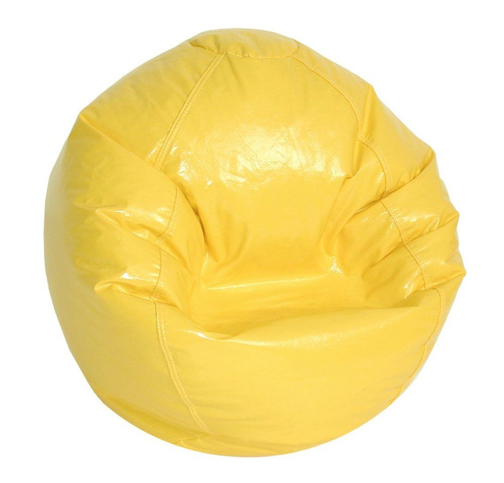 Yellow Bean Bag Chair With Images Yellow Bean Bags Bean Bag