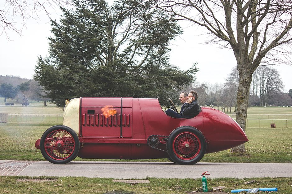 Video Legendary 28 Litre Fiat S76 Drives For The First Time In 100 Years Retro Cars Antique Cars Fiat