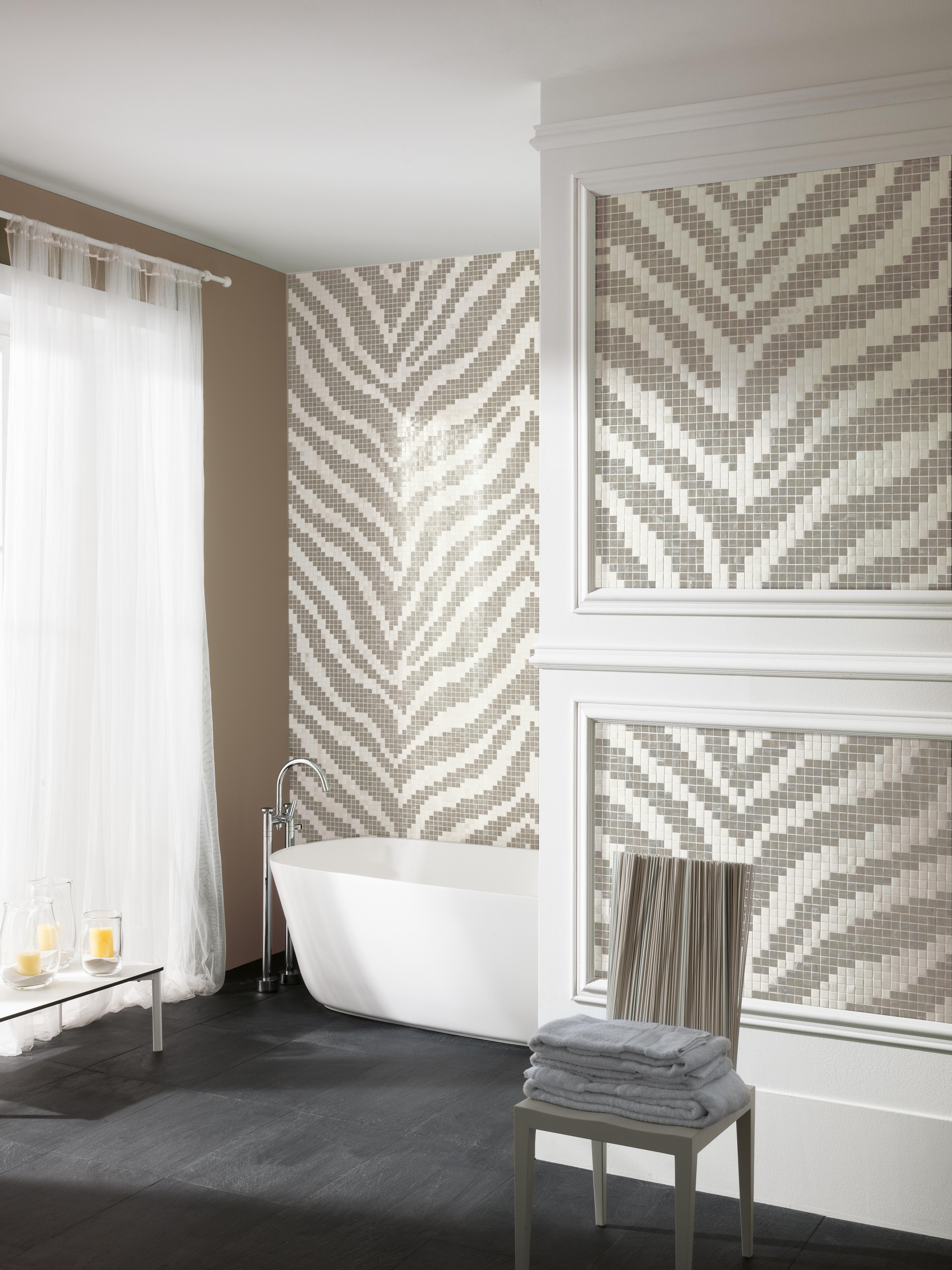 Wallpaper Collection Wild   These Mosaic Patterns Are Inspired By The  Modular Design Of Wallpaper, With The Familiar Repeat Pattern Structure  Translated ...