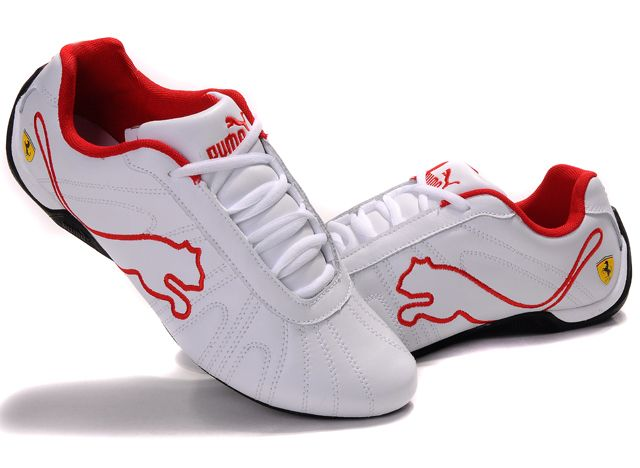 ferrari shoes | Click to Puma Ferrari Shoes White/Red 02 826 More Info.