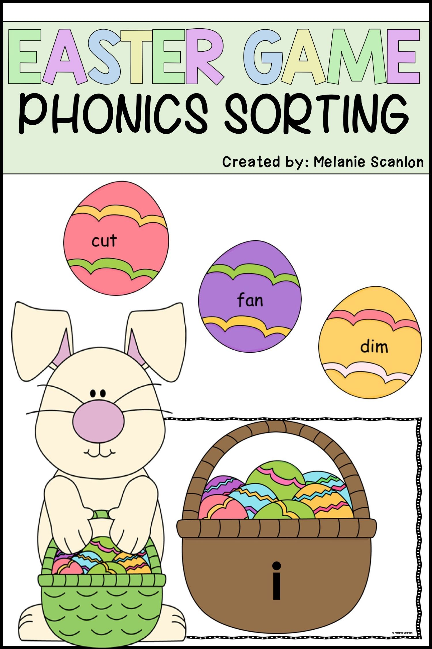 Easter Reading Activity