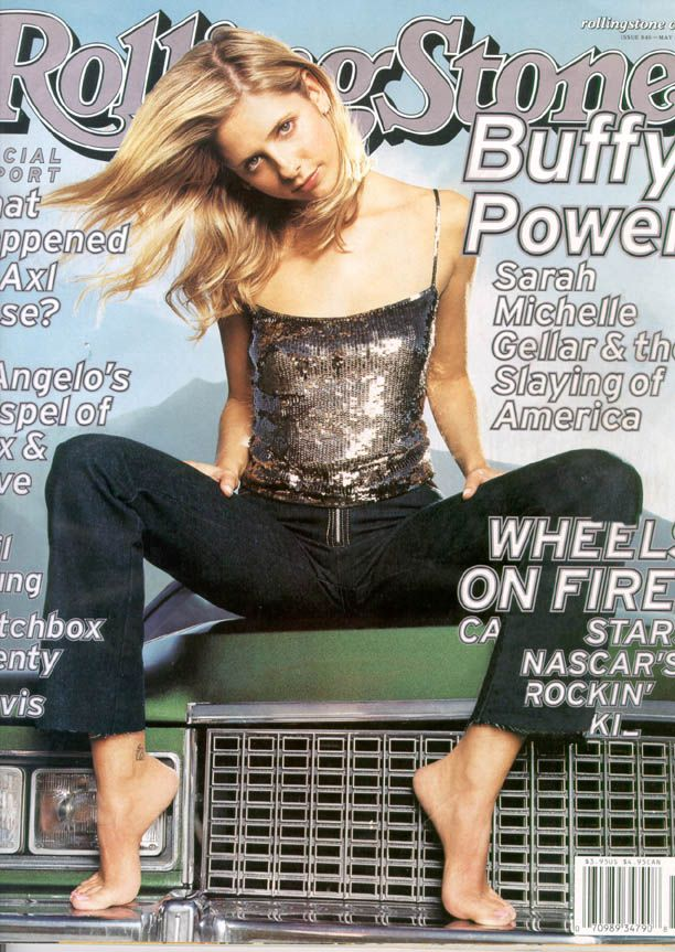 Rolling Stone Cover - Buffy the Vampire Slayer