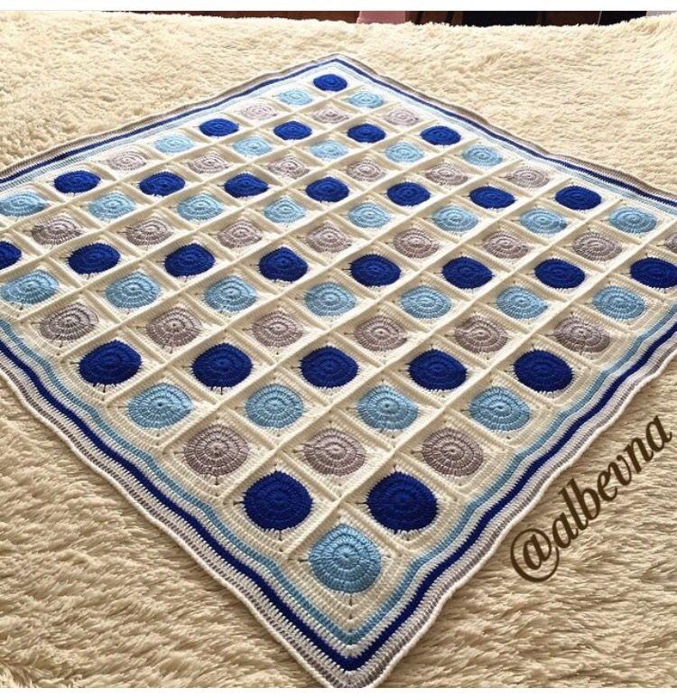 Erkek bebek battaniyesi | Baby blanket | Pinterest | Colchas y Manta