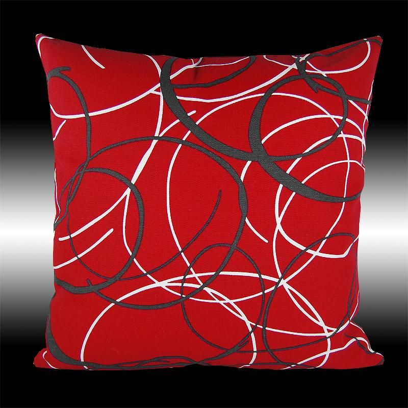 40X NEW RED DECORATIVE SOFA BED PILLOW CUSHION COVERS 40 Red Extraordinary Red Decorative Pillows For Bed