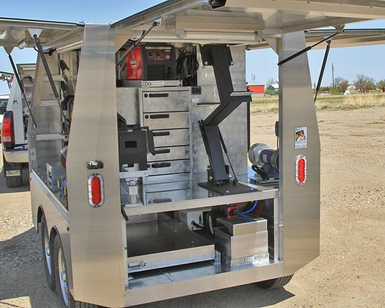 Cool Farriers Trailer By Bay Horse Innovations Horse