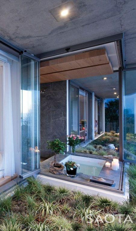 Architecture Beast: Modern house designs: De Wet 34 by SAOTA | #architecture #modern #house #home #design #contemporary #building #bathroom #interior
