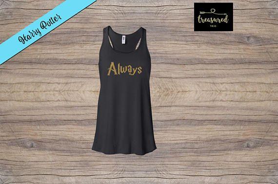 17d84bb414f16 Custom Always Flowy Racerback Tank - Harry Potter Tank - Vacation Shirt