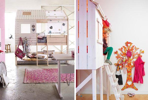I letti pi divertenti per la cameretta dei bambini for 7 piani di casa di camera da letto