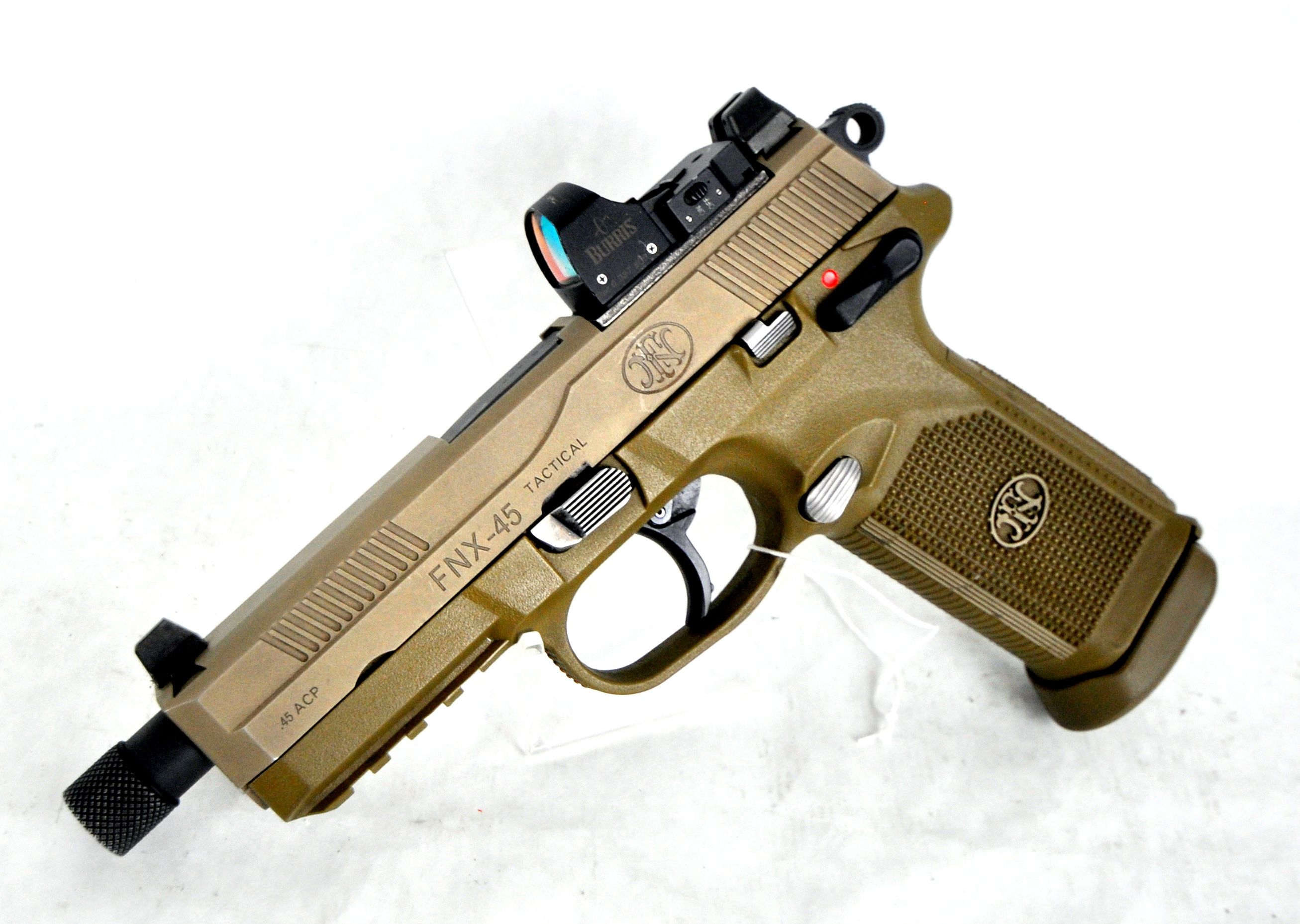 Fnh Usa Fnx 45 Fde Tactical 45 Acp Pre Owned 999 99 Mmp Guns Find Our Speedloader Now Www Raeind Com Or Http Fn 45 Tactical Tactical Military Guns