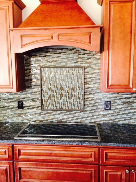 Awesome backsplash done by Jeff Zimmerman with Cozy Home Construction