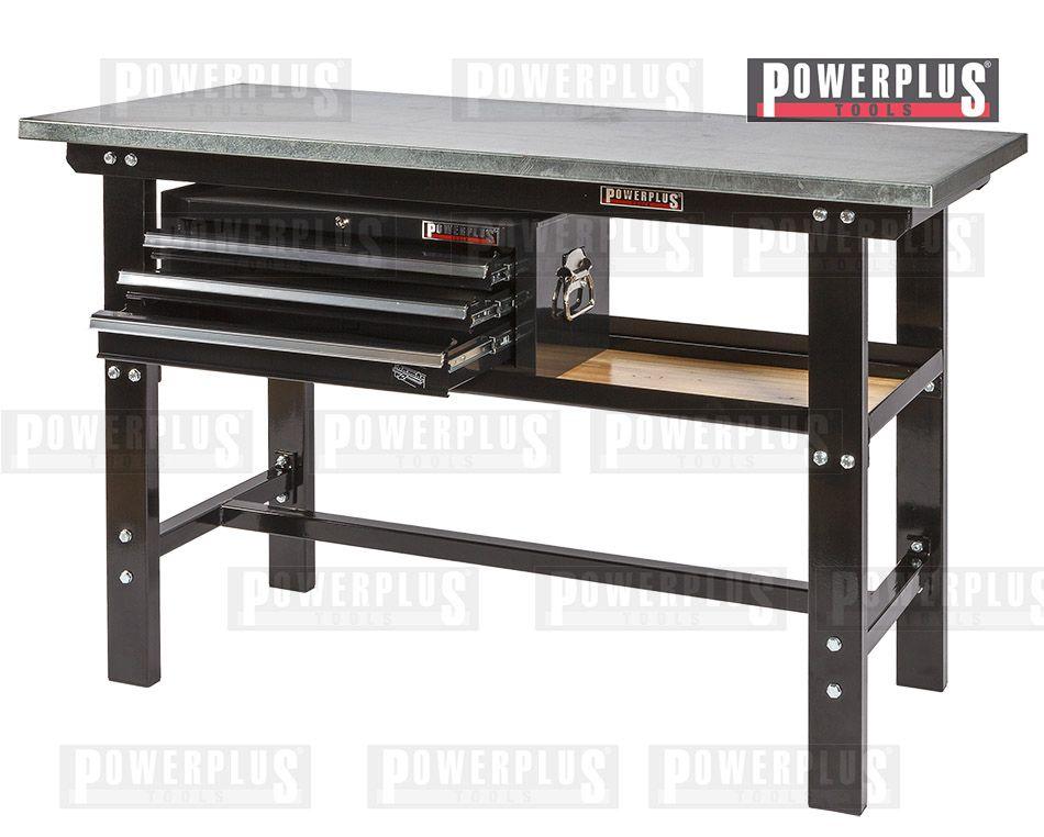 pin von powerplustools gmbh auf werkb nke pinterest werkzeugkiste holzplatte und schubladen. Black Bedroom Furniture Sets. Home Design Ideas