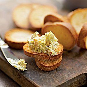 Hot Artichoke-Cheese Dip (Cooking Light)