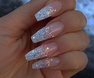 Pin By Stacey On Polished Nail Designs Glitter Nail Designs Cute Acrylic Nails