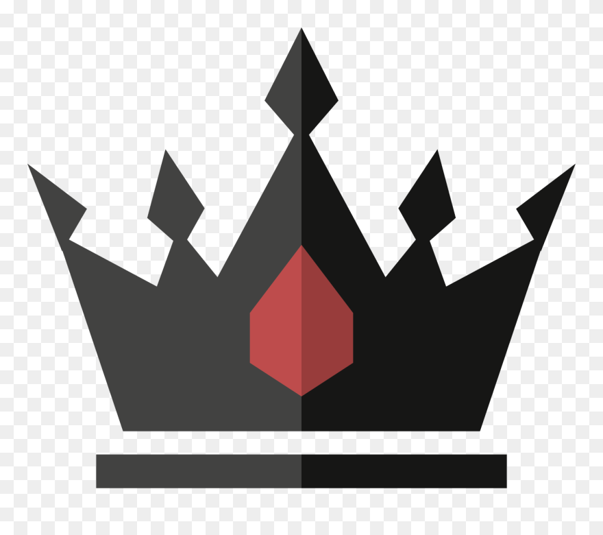 Download Hd Black Crown Icon Vector Crown Png Logo Clipart And Use The Free Clipart For Your Creative Project Crown Png Logo Clipart Red And Black Wallpaper