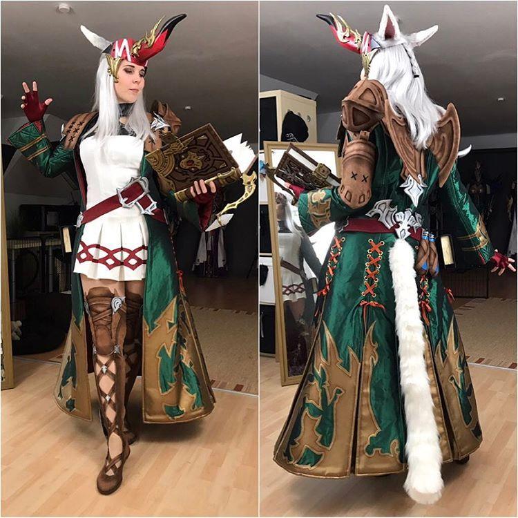 Kamui Cosplay as Summoner #FFXIV #MMORPG #Cosplay