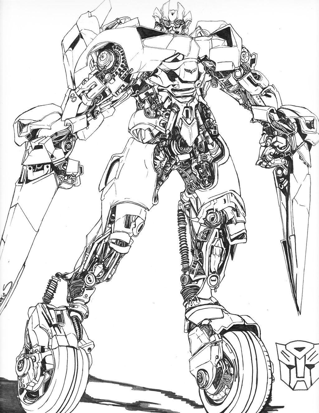 Sideswipe Lineart Transformers Art Transformers Design Transformers Movie