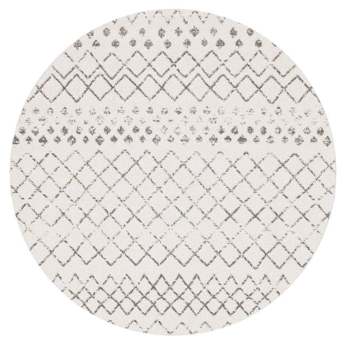 Toulon White Dark Grey Diamond