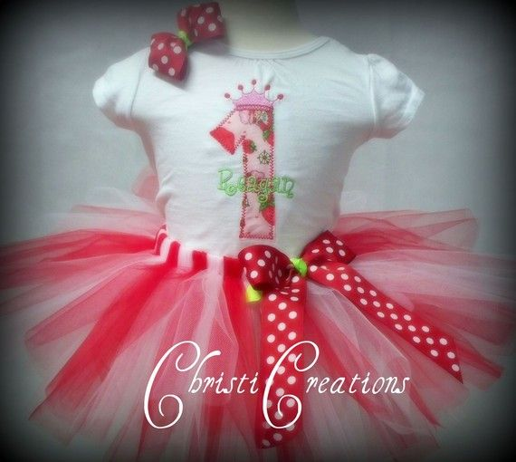 Strawberry Shortcake Collection Custom by ChristiCreations on Etsy, $52.00