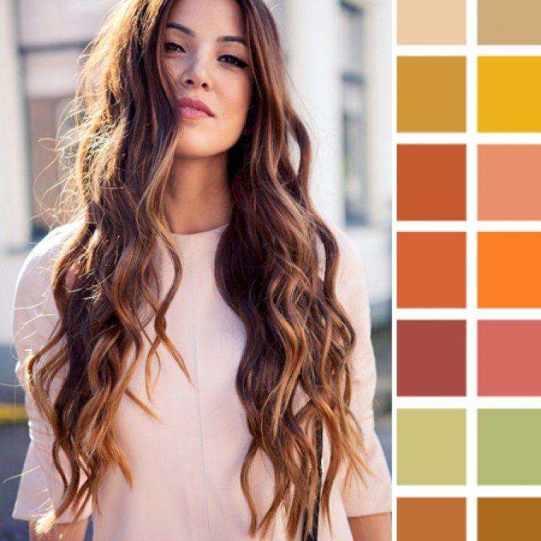 Wunderschoner Herbsttyp Mit Diesen Farben Diesem Wow Styling Wird