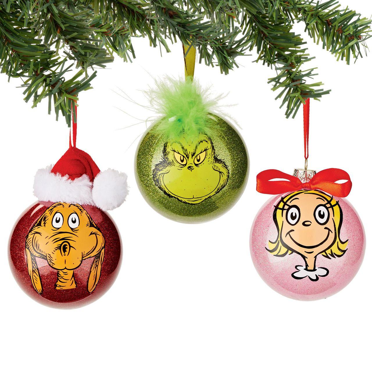 Department 56 Grinch Gang Selfie Glass Ball Christmas Ornament 4045080 Grinch Decorations Grinch Christmas Decorations Whoville Christmas