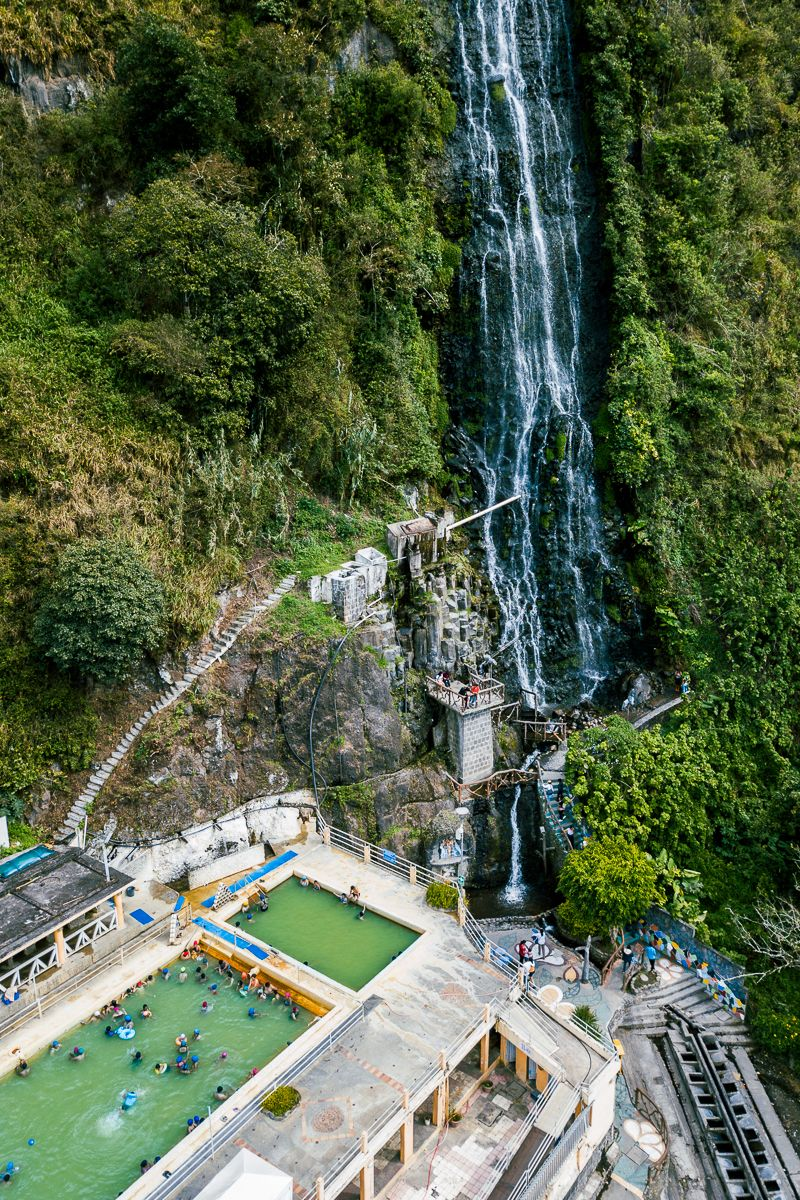 Termas De La Virgen in Banos, Ecuador   Best places to travel, Places to  go, Banos ecuador