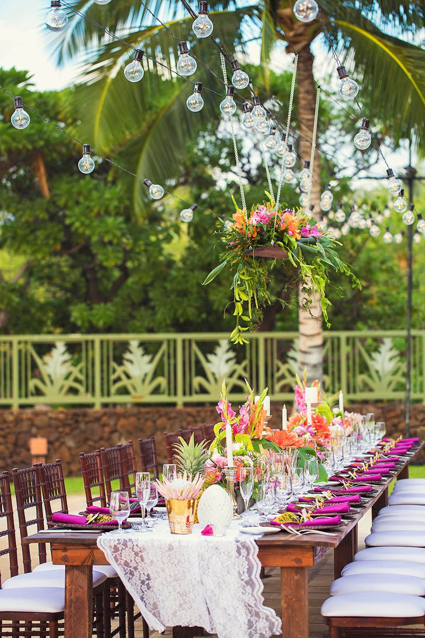 tropical wedding reception decorations hawaii wedding florist tropical wedding ideas tropical 8087