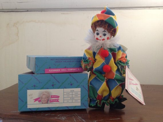 in Madame Alexander Box NEW Happy The Clown