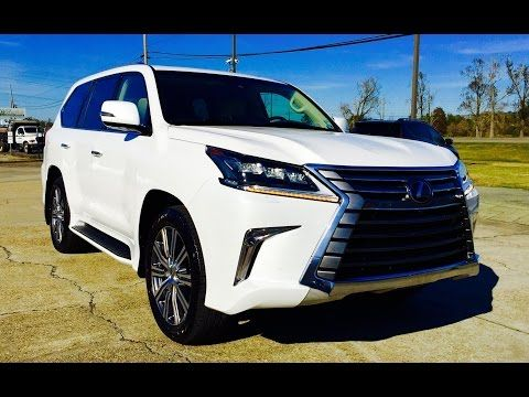 2016 lexus lx 570 full review start up exhaust youtube rh pinterest com