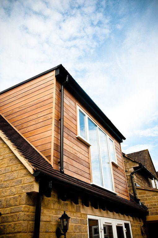 Cedar Clad Loft Conversion Bedroom House Exterior Loft Conversion