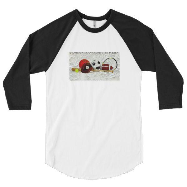 Geezer Daze Fashion: 3/4 sleeve raglan shirt