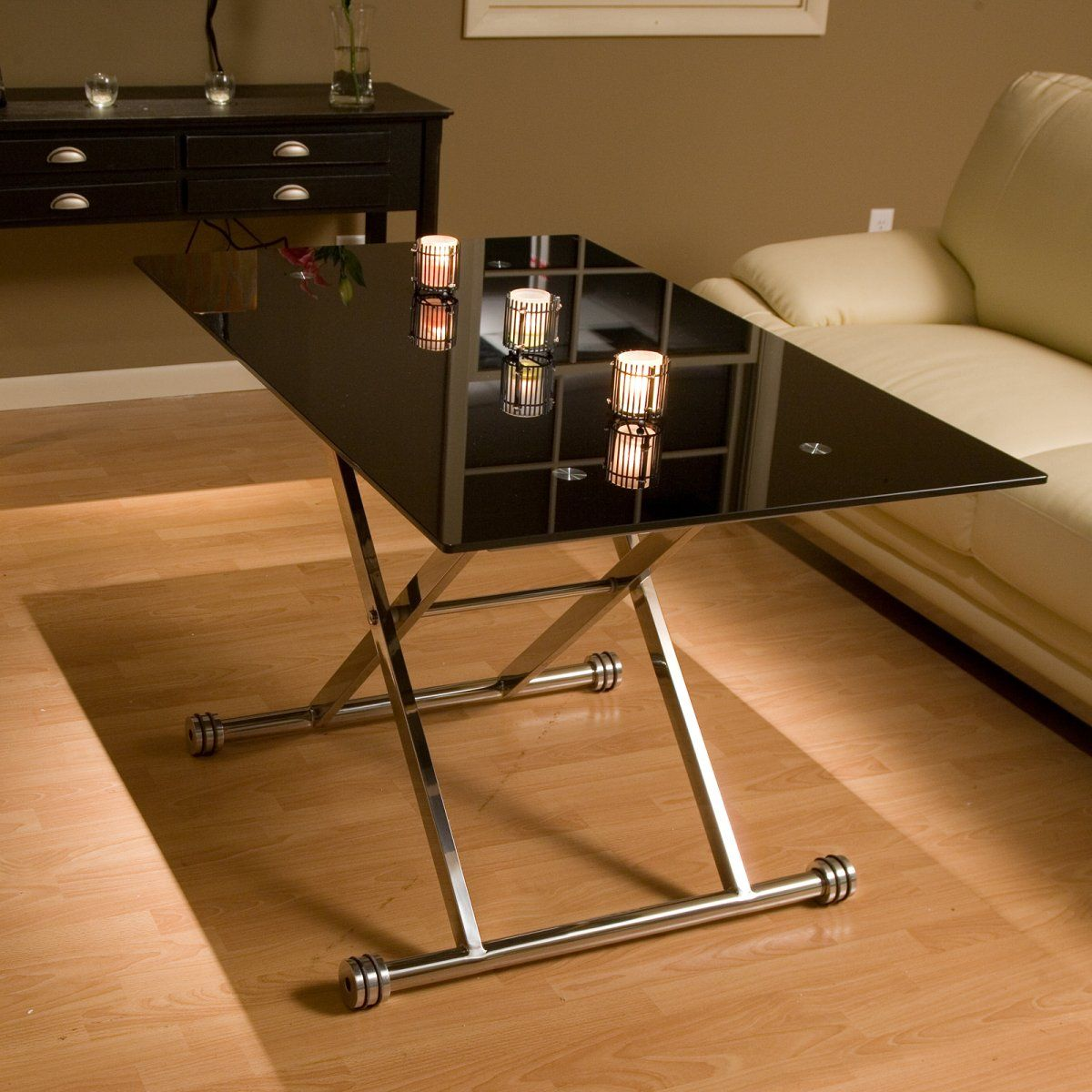 Best Adjustable Height Glass Coffee Table Coffee Tables At 400 x 300