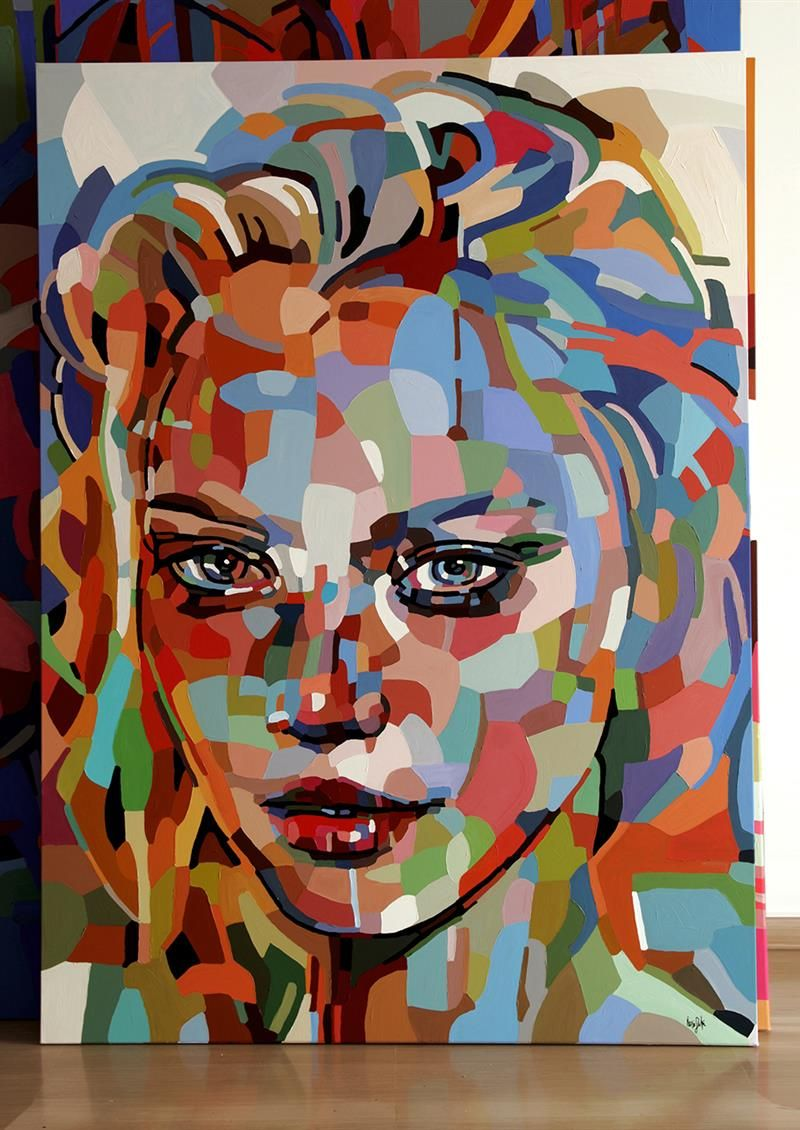 Faces of beauty   solo exhibition. Faces of beauty   solo exhibition   PAINTING STYLES   Pinterest
