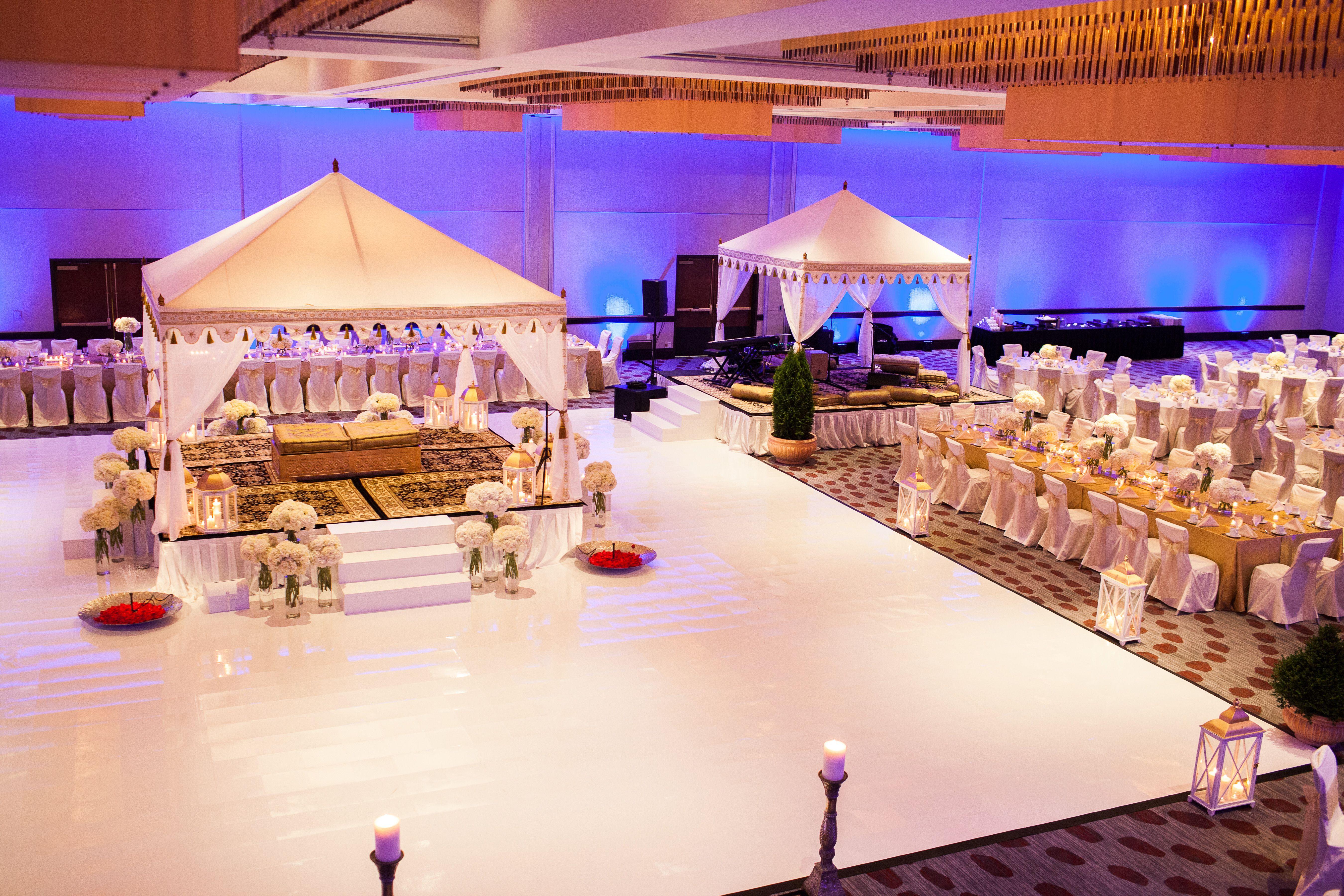 wedding stage decoration pics%0A A beautiful Mandap at a Hyatt Regency Cincinnati Wedding