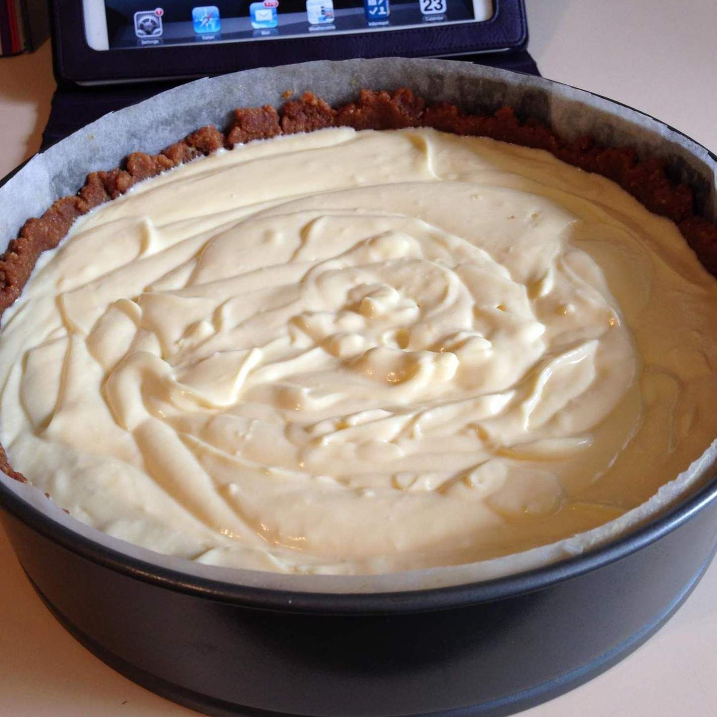 Kuchen Im Thermomix Backen Easy Peasy No Bake Lemon Cheesecake Official Thermomix