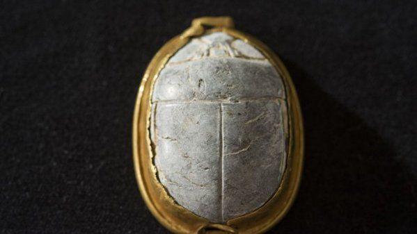 3500 year old Scarab found by bird watcher in Haifa.