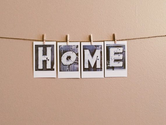 HOME | letter photography on instax prints