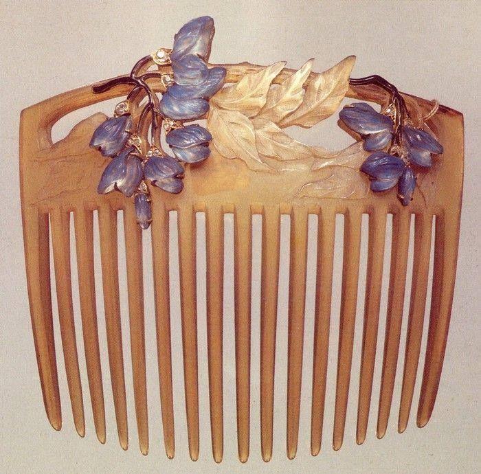 Art Nouveau - Peigne d'ornement - René Lalique
