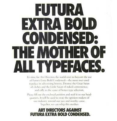 Futura Extra Bold Condensed | Fonts & Type | Brand fonts