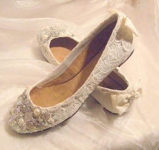 17 Best images about Wedding shoes on Pinterest | Flat wedding ...
