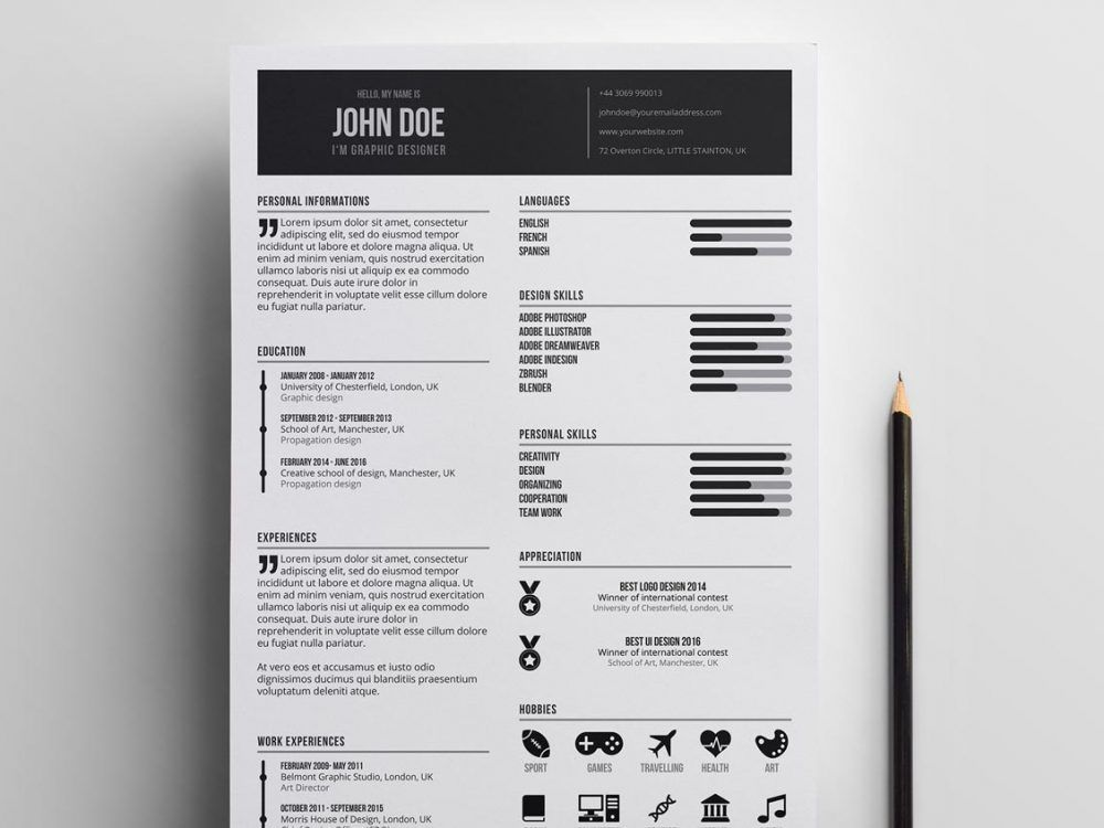 Free Creative Professional Resume Template Resumekraft Resume Template Professional Creative Resume Template Free Resume Design Template