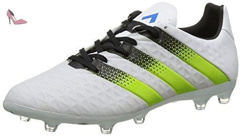 best sneakers b68bf 9099c Adidas Ace FgAg Terrain Souple, Football Homme, Blanc (Ftwr White