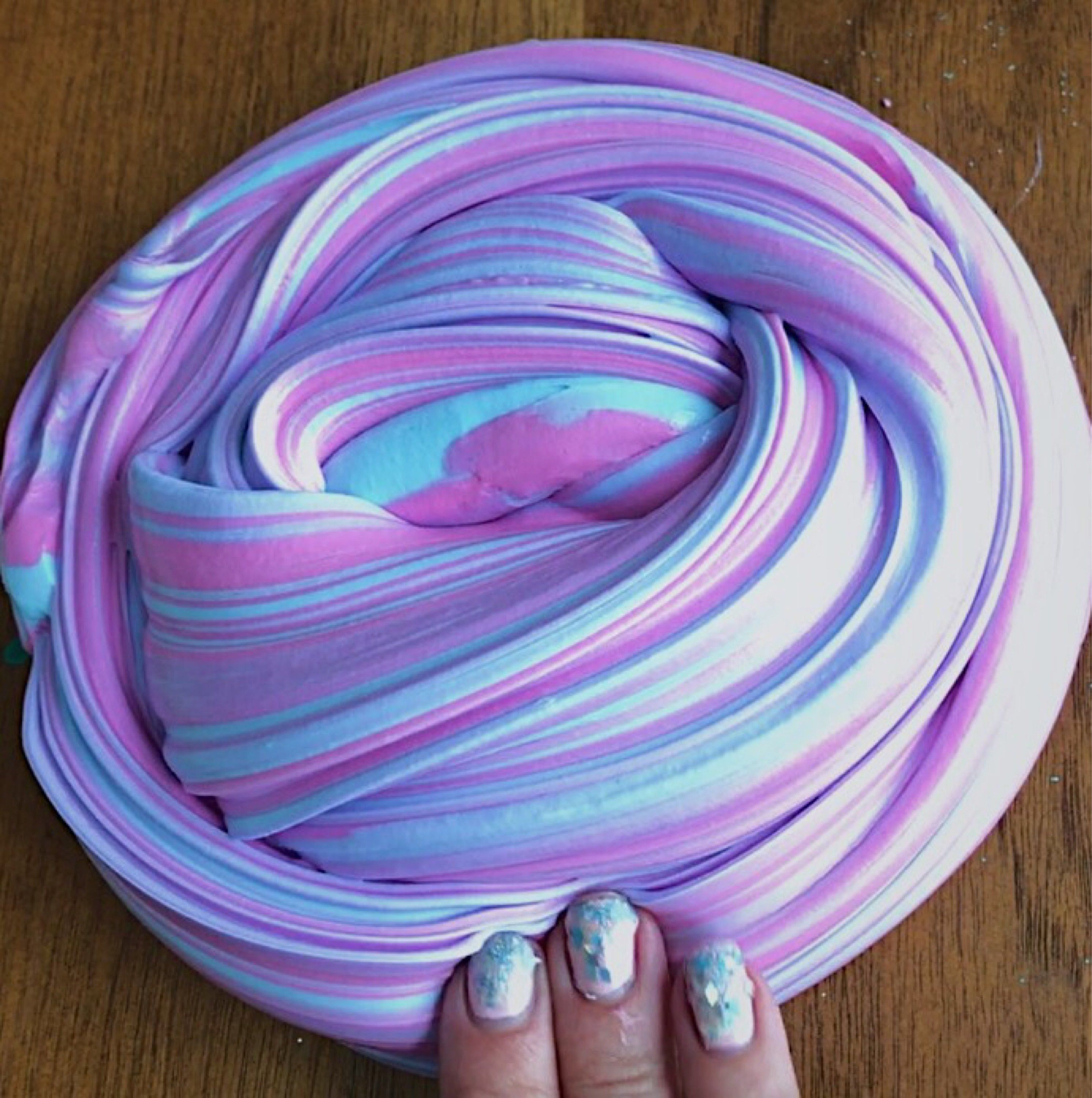 Rainbow Slime Free Shipping Easter Basket Filler Fluffy Thick