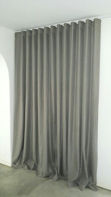 Wave tape curtains made by Curtain Time | curtains | Pinterest ...