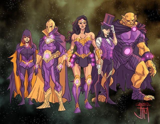Etrigan Vs Superman Comic: Team Wonder: Raven, Doctor Fate, Zatanna, Wonder Woman Y