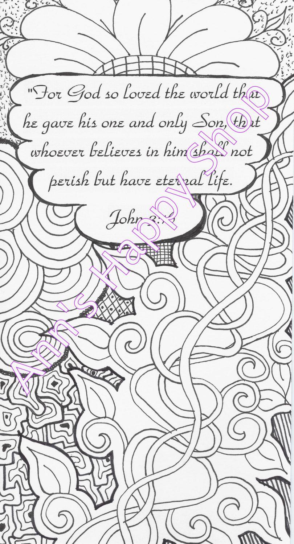 bible memory verse coloring page john 3 16 by annshappyshop