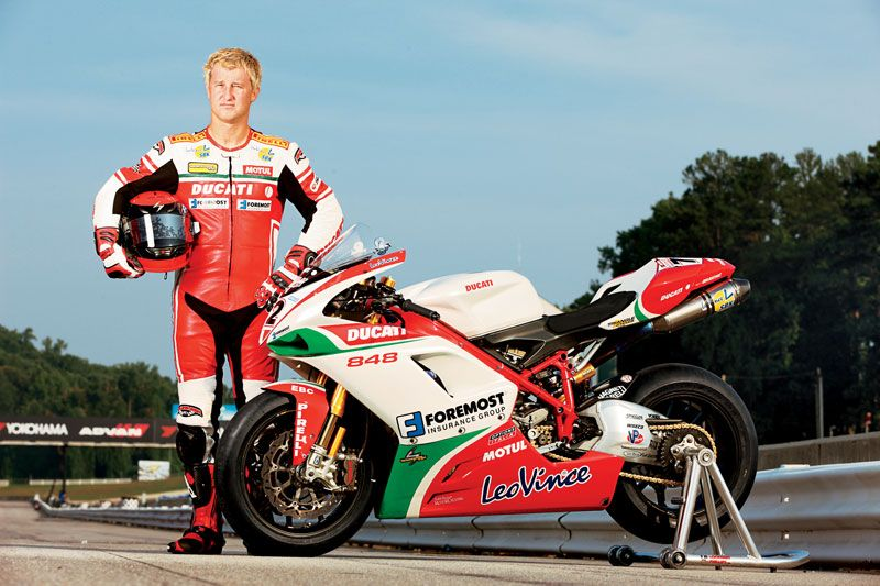 Larry Pegram From Foremost Insurance Pegram Racing Motul