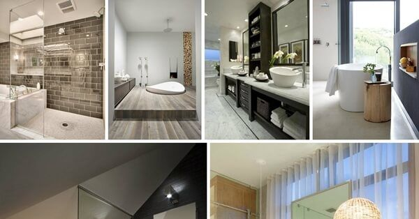 30 Aweinspiring Contemporary Bathroom Designsvisit My Home Adorable Bathroom Design Website Decorating Inspiration