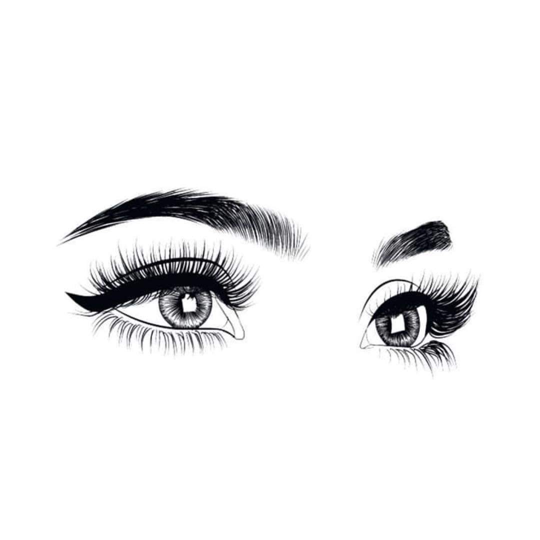 Learn To Draw Eyes Lashes Logo Eye Art Makeup Wallpapers