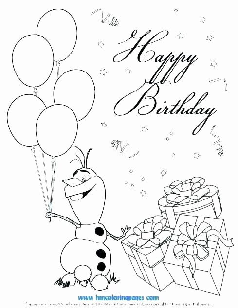 Star Wars Birthday Coloring Pages Awesome Star Wars ...